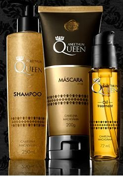 KIT DE TRATAMENTO QUEEN ANEETHUN