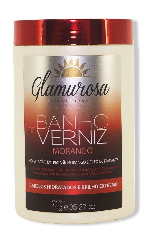 Glamurosa Banho de Verniz Morango 1 Kg
