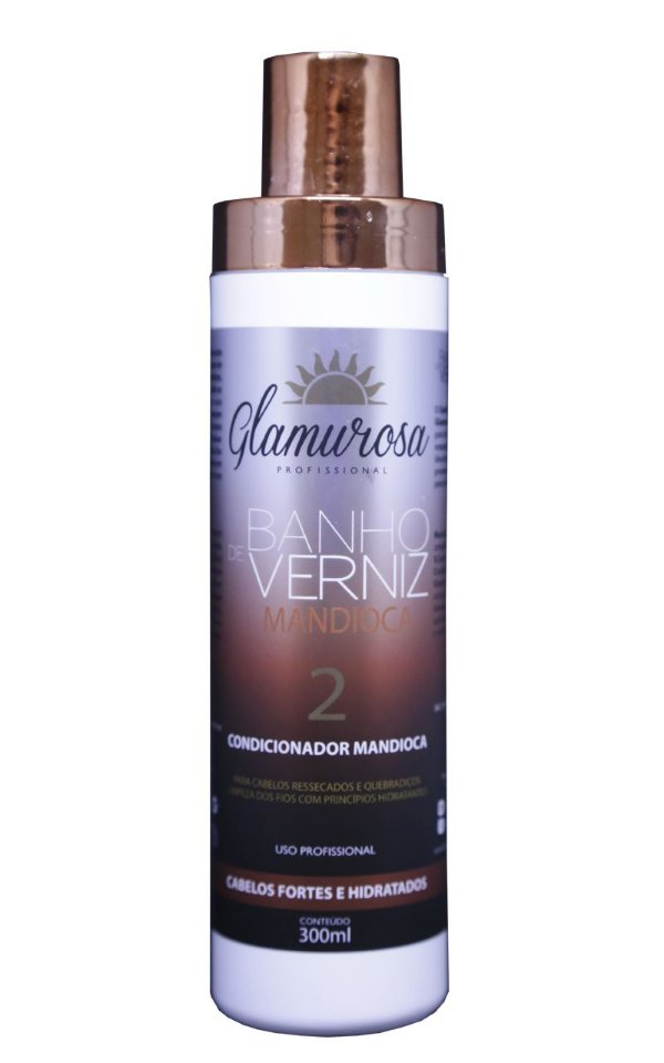 Glamurosa Condicionador Mandioca 300 ml