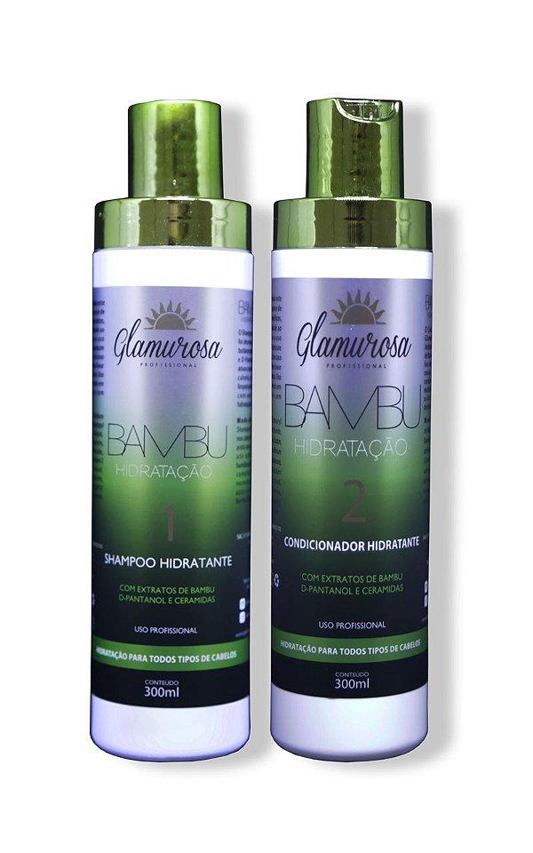 Kit Glamurosa  Shampoo + Condicionador Bambu 300ml