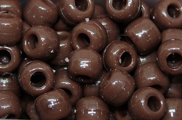 Miçanga Pesca Lisa - Chocolate 10 Unidades