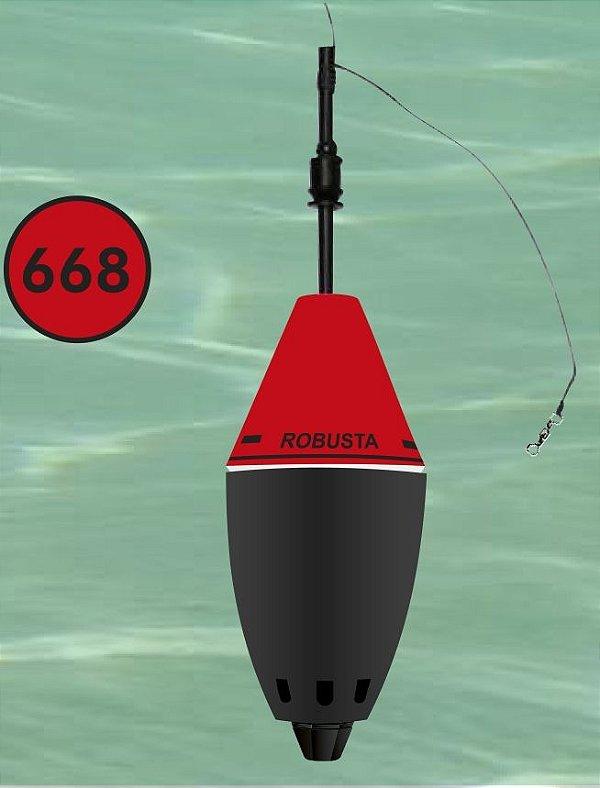 Boia Cevadeira Jr Robusta Vermelho Copo Preto 63 Gr - Ecológica