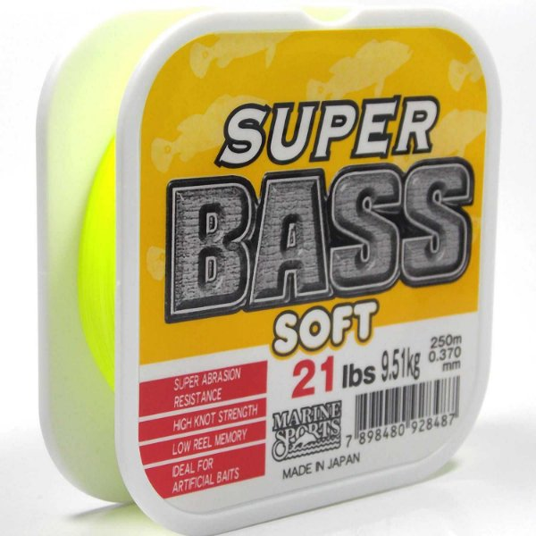 Linha Marine Sports Super Bass Soft Amarelo