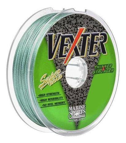 Linha Vexter Multifilamento 100m Verde