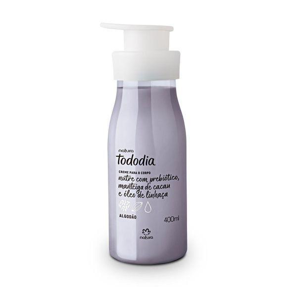 Creme Nutritivo desodorante Corporal Algodão Todo Dia  Natura 400 ml