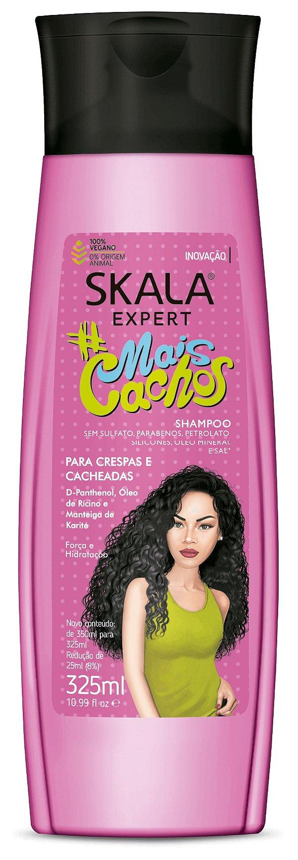 Shampoo Mais Cachos Skala Expert 325ml.