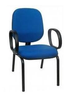 Cadeira para Igreja Draco Com Braços
