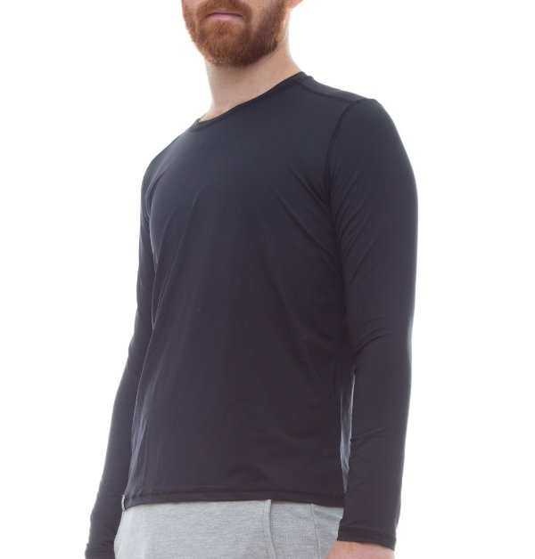 Camiseta Masculina Proteção Solar Uv50 Manga Longa - Slim Fitness