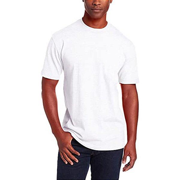 Camiseta T-Shirt Básica Slim Tee - Slim Fitness - Branco