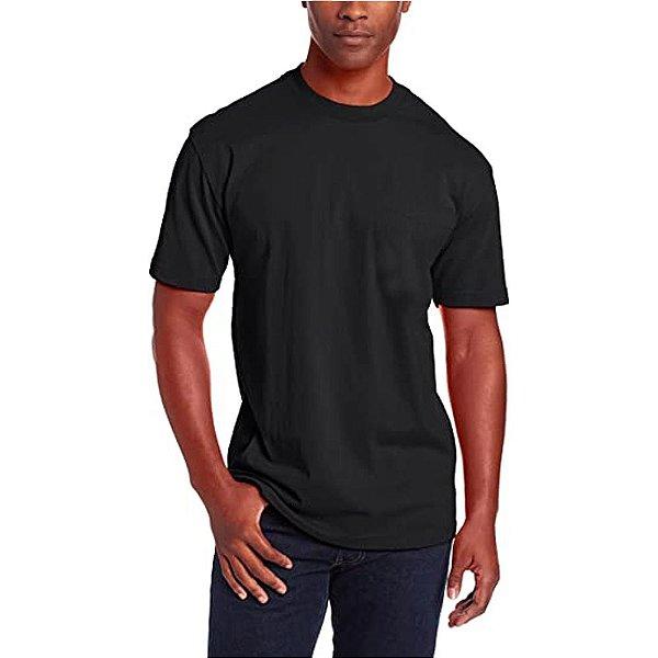 Camiseta T-Shirt Básica Slim Tee - Slim Fitness - Preto