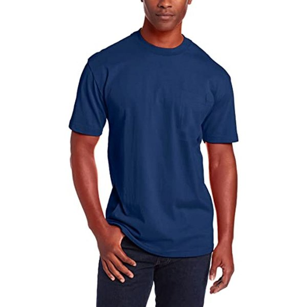 Camiseta T-Shirt Básica Slim Tee - Slim Fitness - Azul Marinho