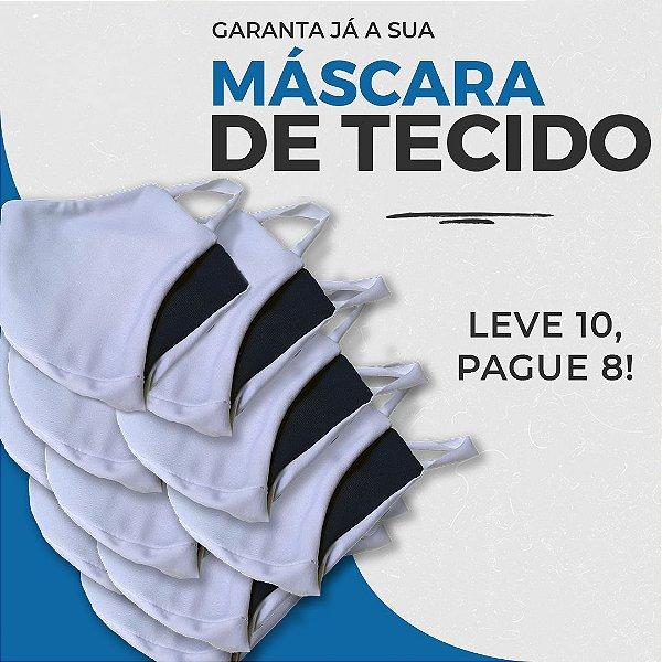 PROMOÇÃO - 10 Máscaras de Tecido Proteção Antiviral
