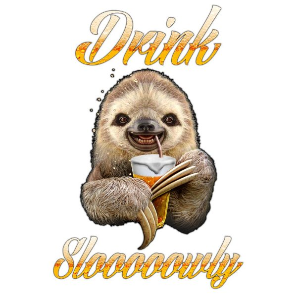 Camiseta Drink Slooowly