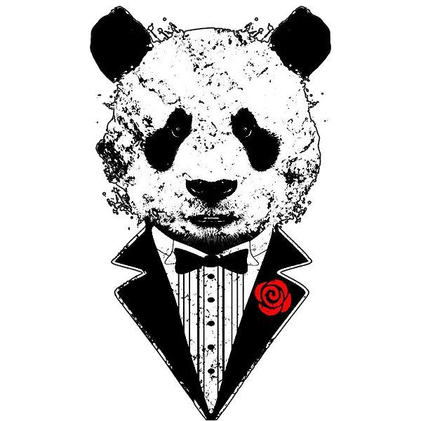 Camiseta Panda pra Casar