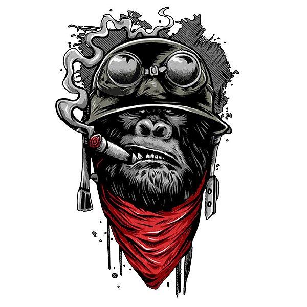 Camiseta Gorila Aviador