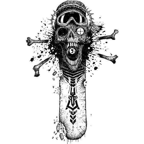 Camiseta Chain Skull