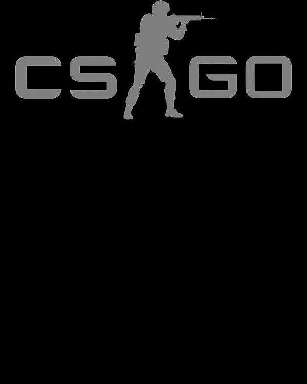 CAMISETA CSGO COUNTER-STRIKE LOGO