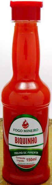 Pimenta Biquinho - Molho 150ml