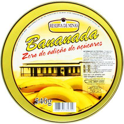 Bananada Cremosa 0% Açúcar Lata 500g
