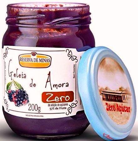 Geléia de Amora ZERO Açúcar 200g