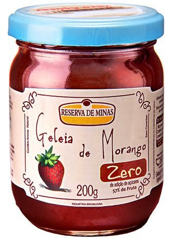 Geléia de Morango ZERO Açúcar 200g