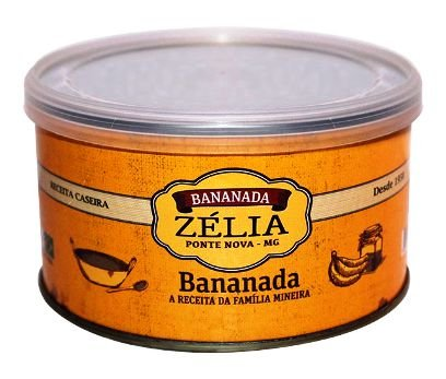 Bananada Zélia 400g