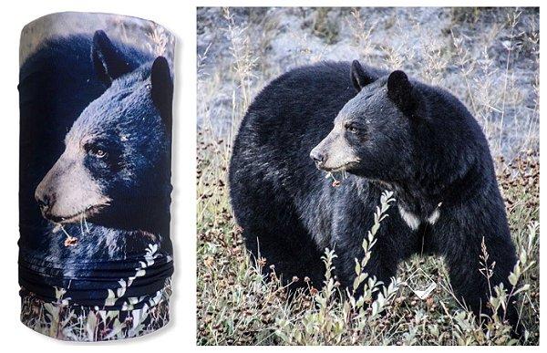 Bandana Multiuso Black Bear
