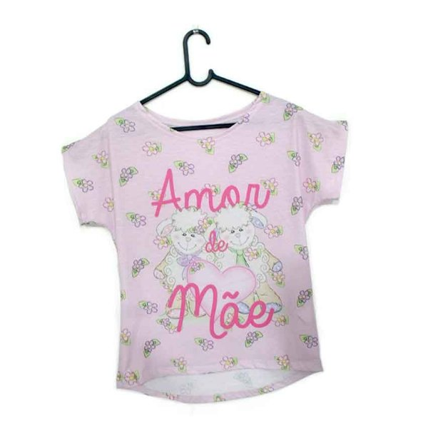 T-Shirt modelo Babylook Cód. 5148