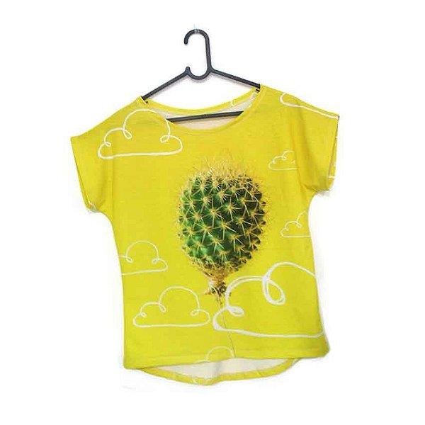T-Shirt modelo Babylook Cód. 5166