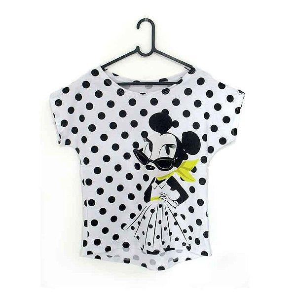 T-Shirt modelo Babylook Cód. 5198