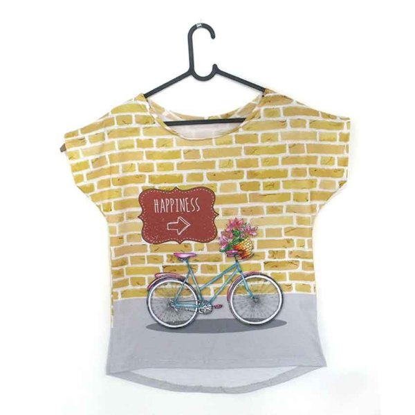T-Shirt modelo Babylook Cód. 5234