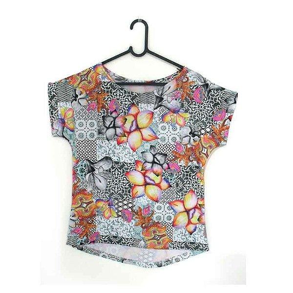 T-Shirt modelo Babylook Cód. 5207