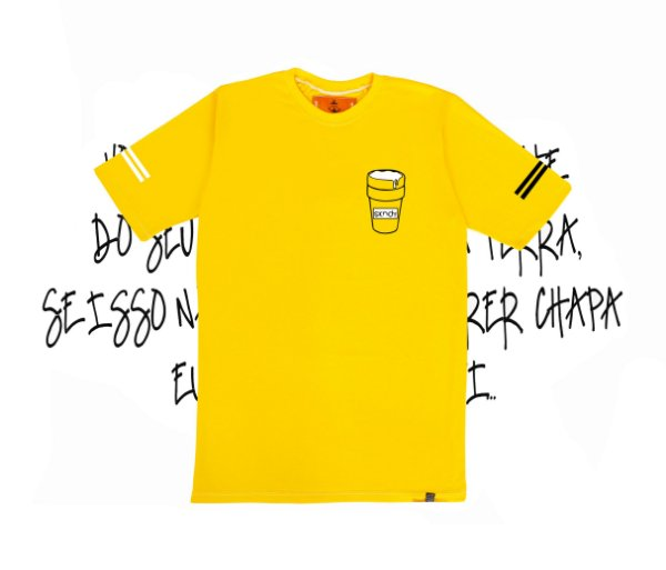 Camiseta SKNDY DRINK CUP CHARTREUSE YELLOW
