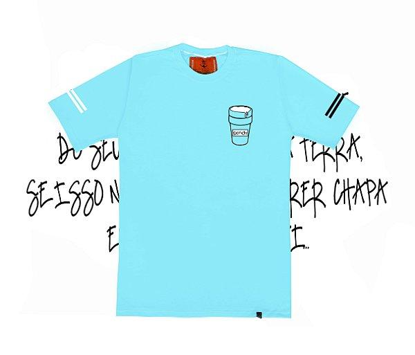 Camiseta SKNDY DRINK CUP SWEET BLUE