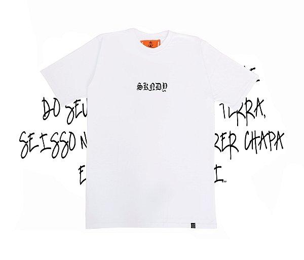 Camiseta SKNDY RESPECT ALL WHITE