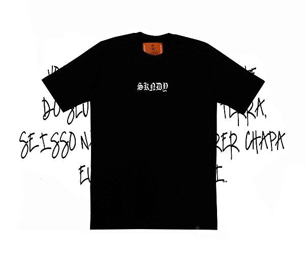 Camiseta SKNDY RESPECT ALL BLACK