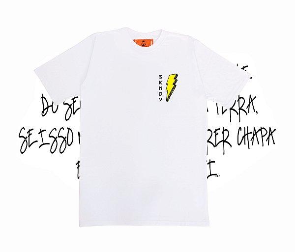 Camiseta SKNDY STORM WHITE