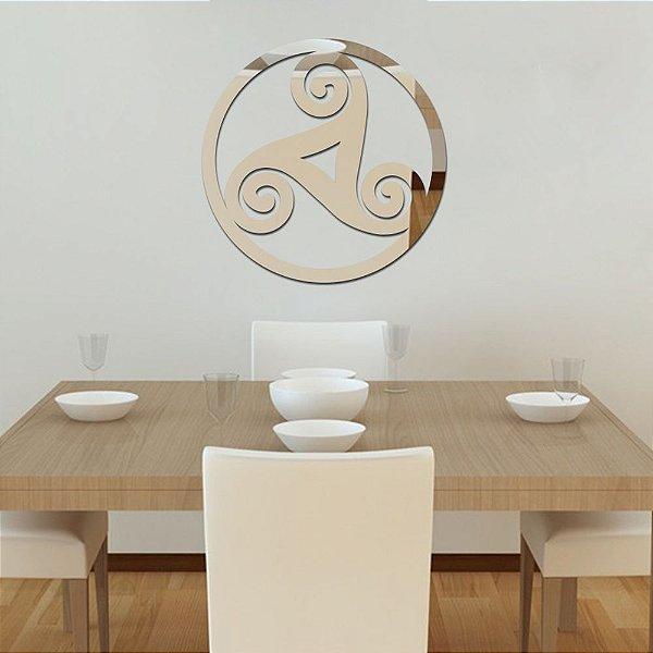 Espelho Acrílico Logo Céltico