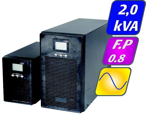 Nobreak Senoidal Puro G4 2kva 1,6kw 220v Aut. 10 Minutos