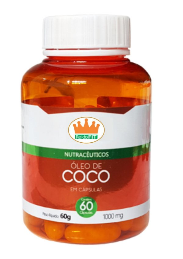 Óleo de Coco 1000mg c/ 60 Cápsulas