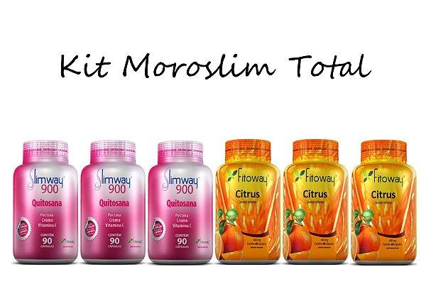 Kit Emagrecedor Moroslim Tratamento Total® 450 Cápsulas