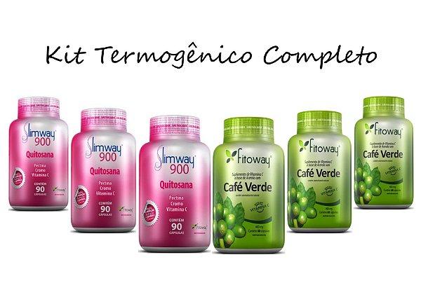 Kit Emagrecedor Termogênico Tratamento Completo® 450 Cápsulas
