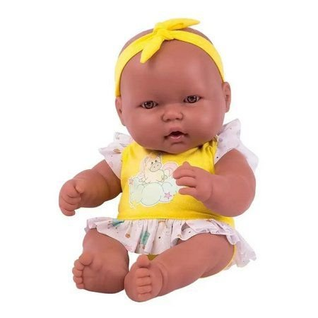 Boneca Neneca Sem Cabelo Negra – Super Toys