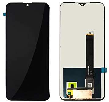 Tela Frontal Touch e LCD LG K41s K410 LMK410 BMW Preta Sem Aro