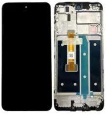 Tela Display Frontal LG k52 / k42 / k62 Preto Com Aro