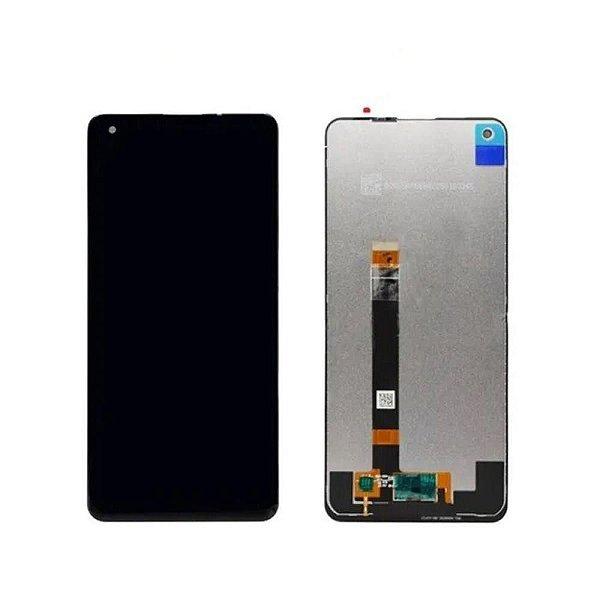 Tela Frontal Touch e LCD LG K51s K510 Lm-k510 6.5 Preta Sem Aro