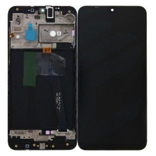 Tela Frontal Display Lcd Samsung Galaxy A10 2019 Sm-a105 Com Aro