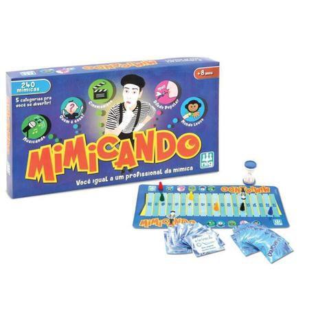 Jogo De Tabuleiro Infantil Mimicando Com 248 Acessórios Nig