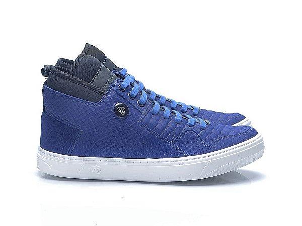 TENIS SLIM 3743 - NOBUCK BLUE