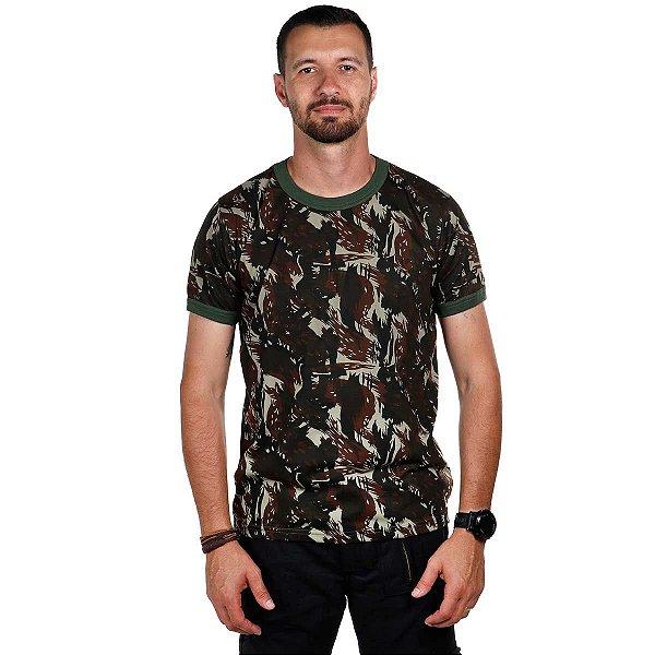 Camiseta Camuflada Padrão do Exército
